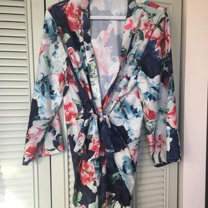 Floral (wedding party) Robe